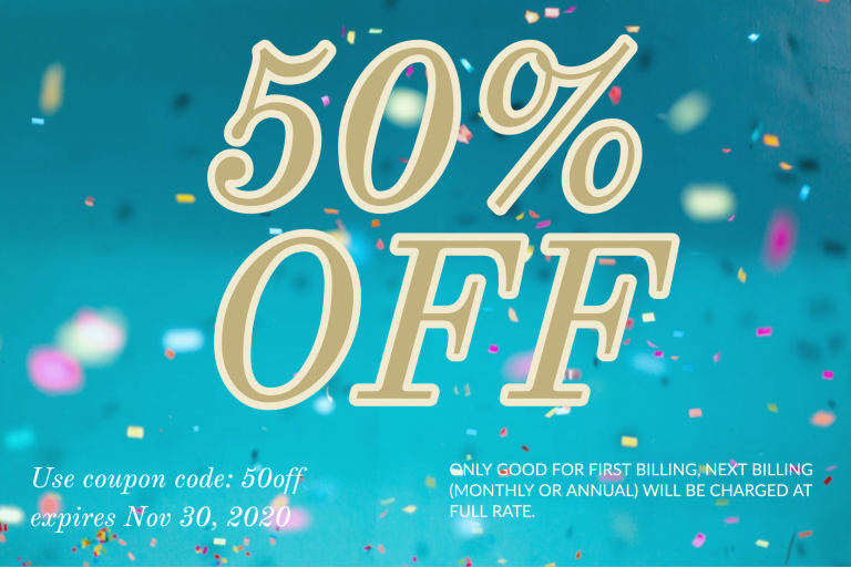 50% off coupon [50off]